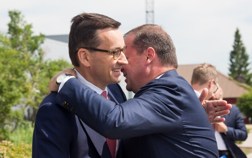 Western Europe wants to grow at our expense, Polish PM tells Lithuania