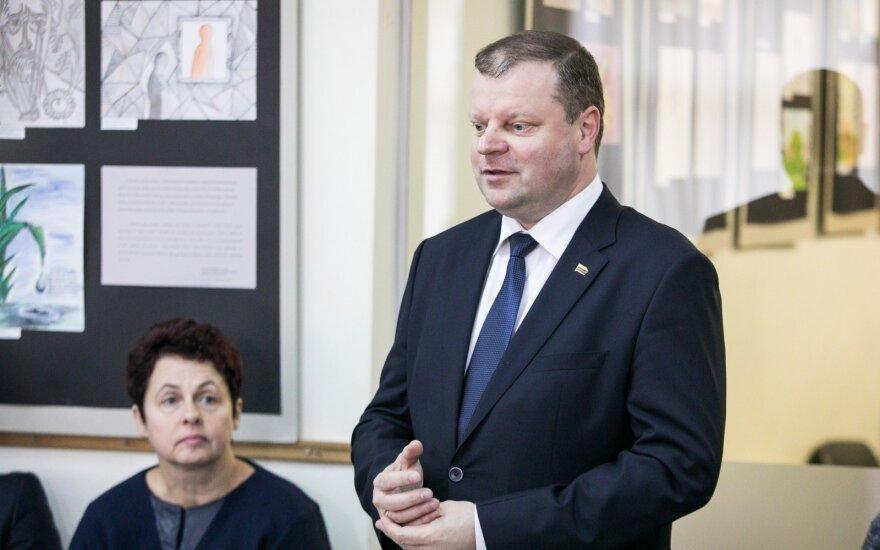 Skvernelis prezidento rinkimų kampanijoje dalyvaus per atostogas