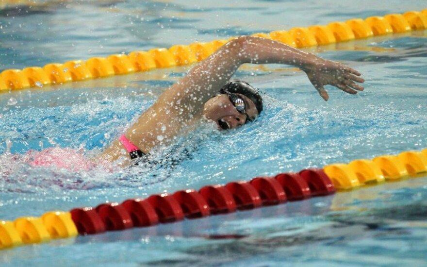 Baltarusijos plaukimo čempionate pagerinti du Lietuvos rekordai