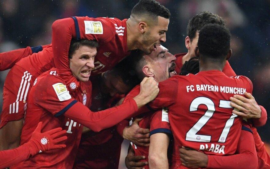 """Bayern"" sveikina Francką Ribery"