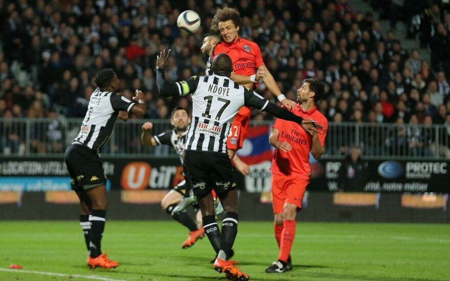"""PSG ir """"Angers"""" klubų rungtynės"""