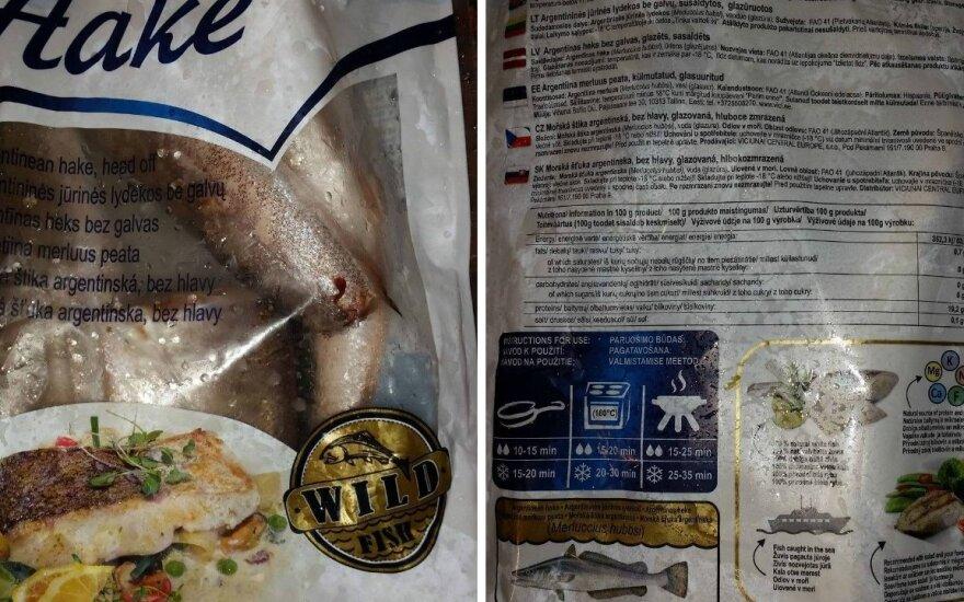 Šaldytoje žuvyje vilnietis aptiko labai nemalonų radinį