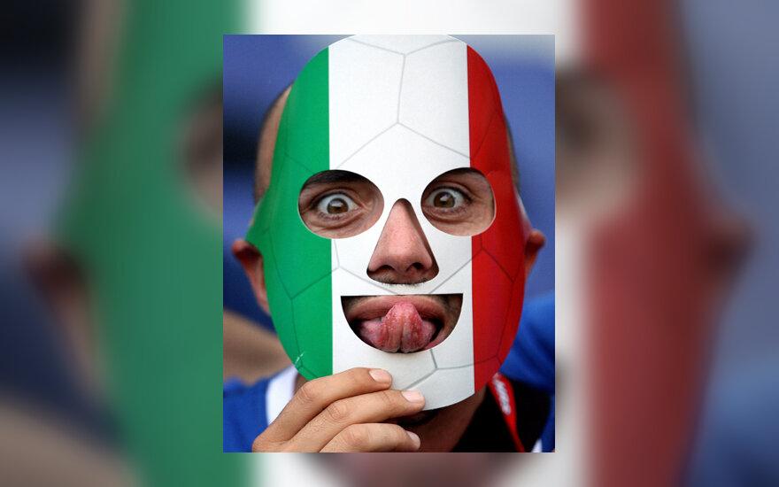 Italijos futbolo komandos sirgalius