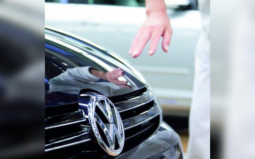 """Volkswagen"" pardavimai balandį augo 11 proc."