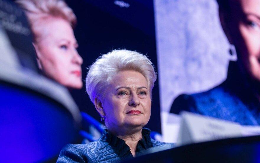 Grybauskaitė: ši krizė yra visai kitokia nei buvusi prieš 10 metų