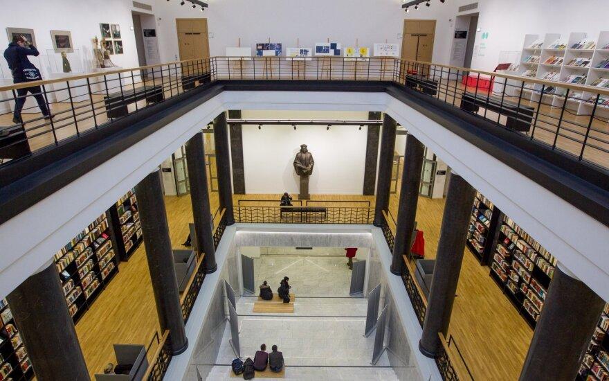 Nausėda pasveikino Nacionalinę Martyno Mažvydo biblioteką šimtmečio proga