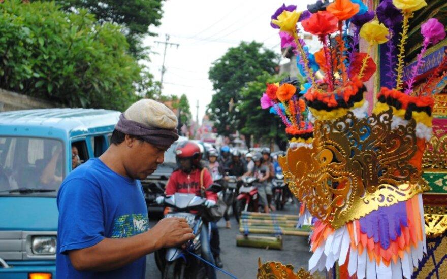 Kuningan šventė Bali saloje