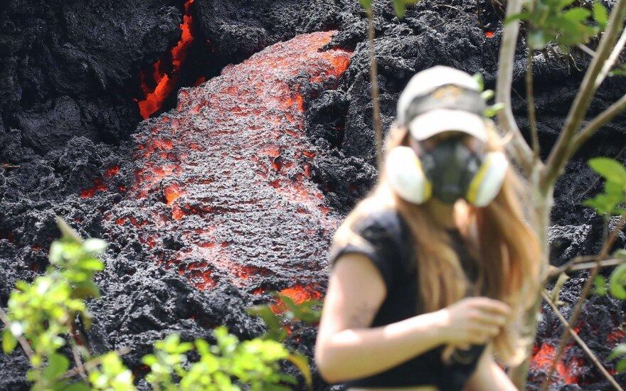 Havajuose situacija blogėja, evakuojama dar daugiau žmonių
