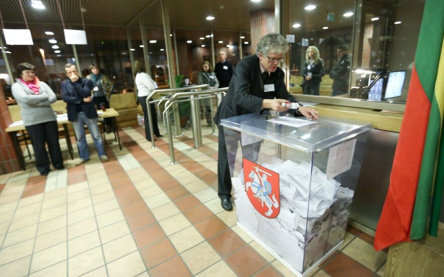Voting in Lithuania