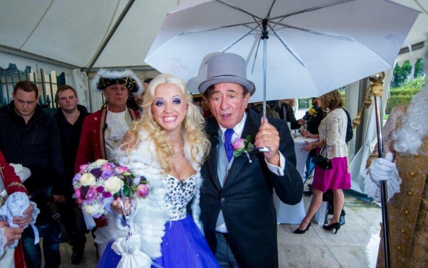 Richardo Lugnerio ir Cathy Schmitz vestuvės