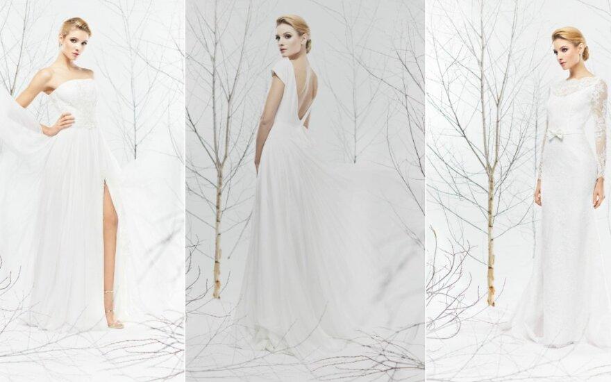 Dizaineris E. Rainys pristato 2017 metų vestuvinių suknelių kolekciją
