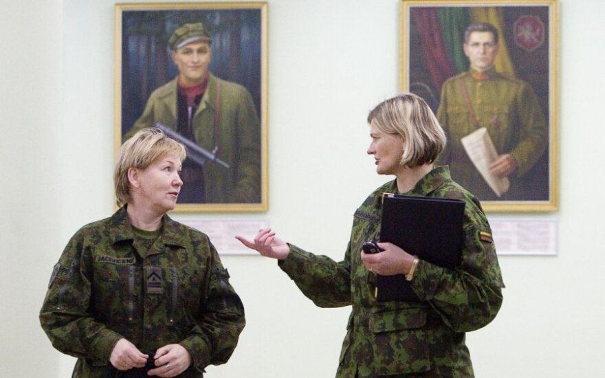 Lithuanian PM is against military conscription of women