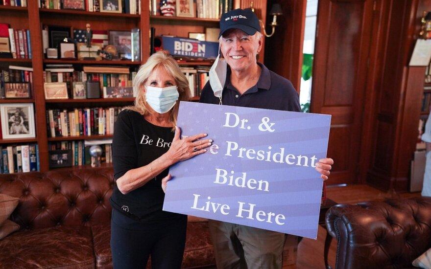 Jill Biden, Joe Bidenas