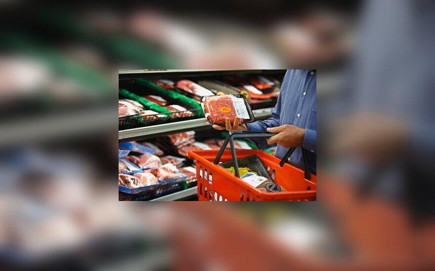 Susirūpinta, ar sulaikyti maisto produktai nepasiekia vartotojų