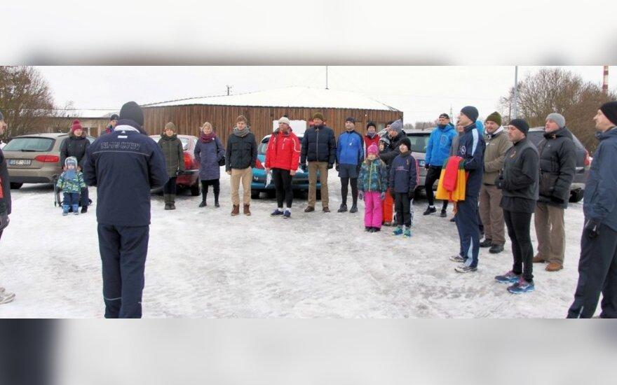 Bėgimas Tartu sausio 13-osios aukų atminimui. (c) Sigita Matulevičienė