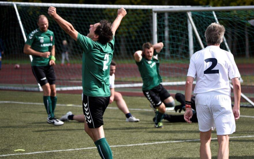 """Tarptautinis žurnalistų futbolo turnyras / FOTO: """"Press"""""""