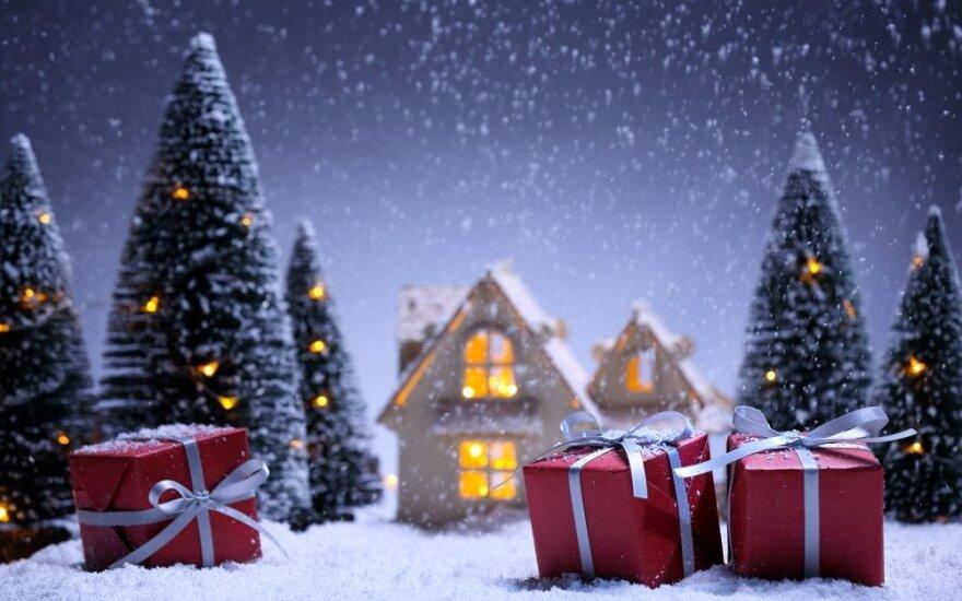 Iš kur atkeliauja Kalėdų Senelis?
