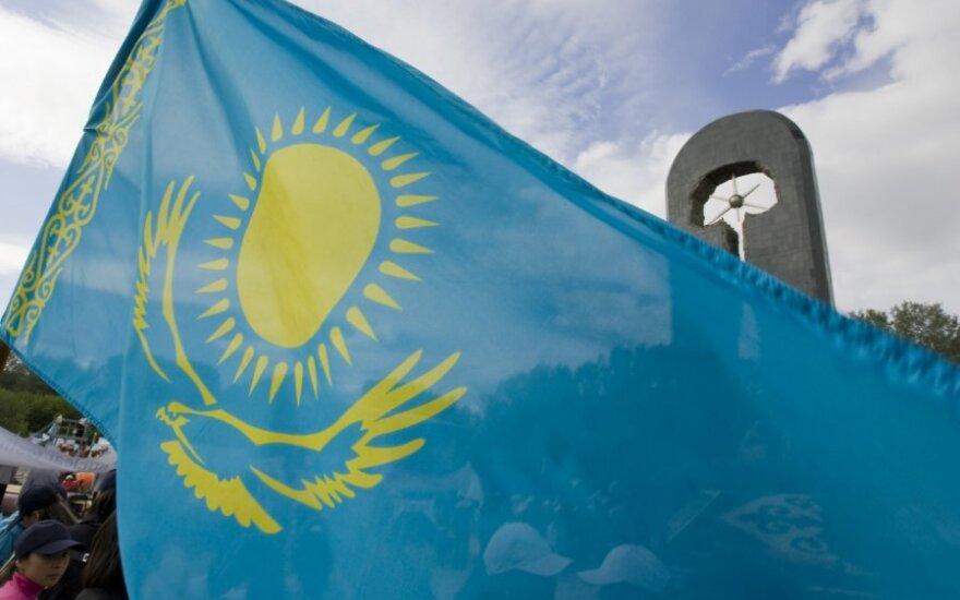 Kazachstano vėliava