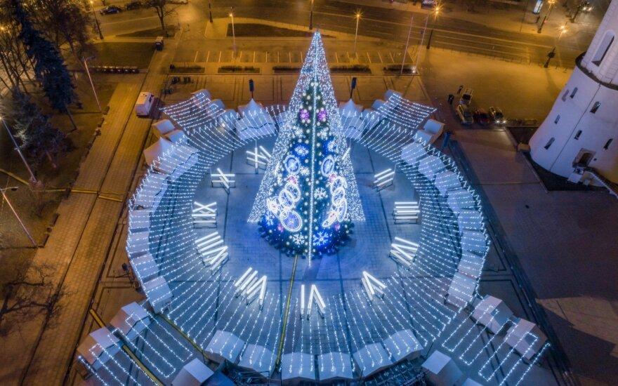 Dar nematėte Vilniaus eglutės? Apsilankykite virtualiai