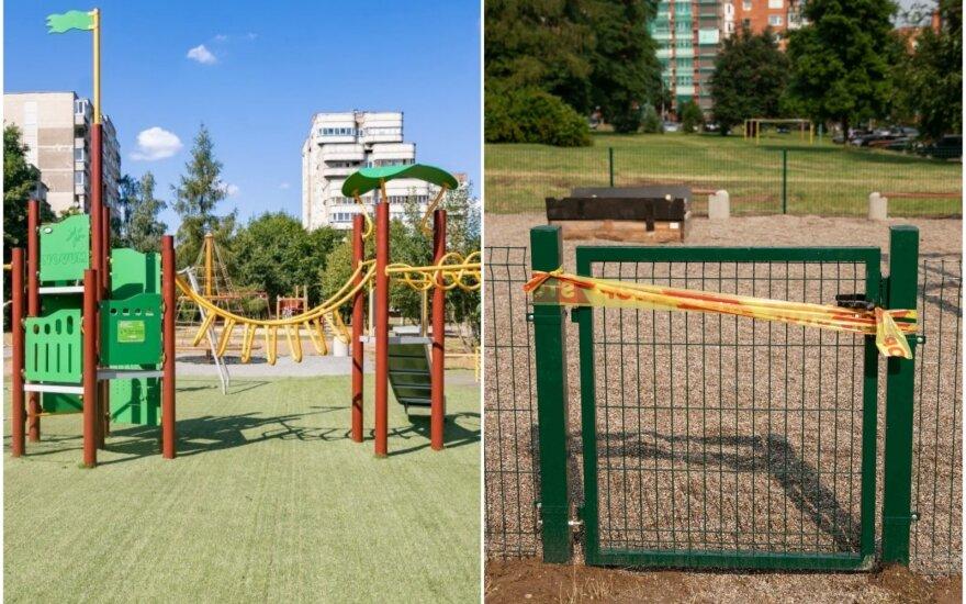Vilniečiai tikėjosi kitokios atnaujintos žaidimų aikštelės.