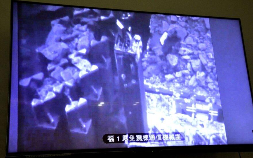 Iš apgadintos Japonijos jėgainės šalinamas branduolinis kuras