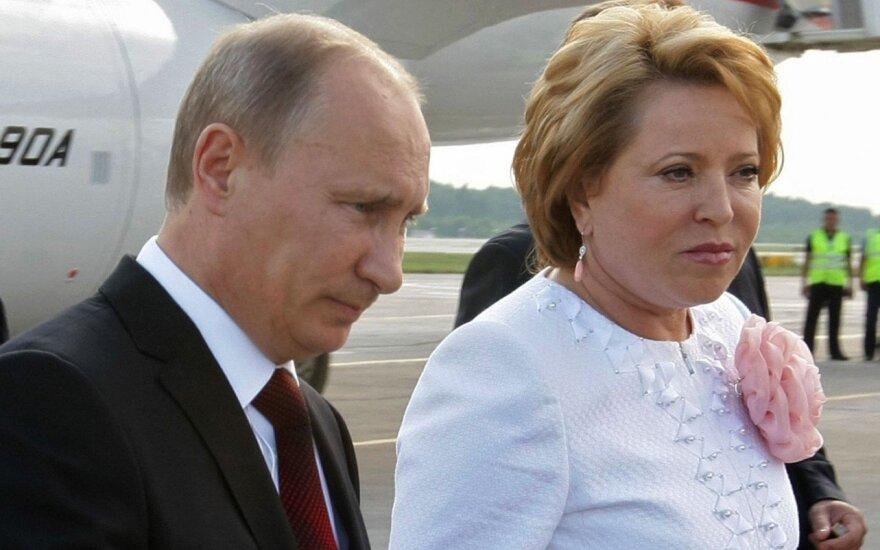 Vladimiras Putinas, Valentina Matvijenko