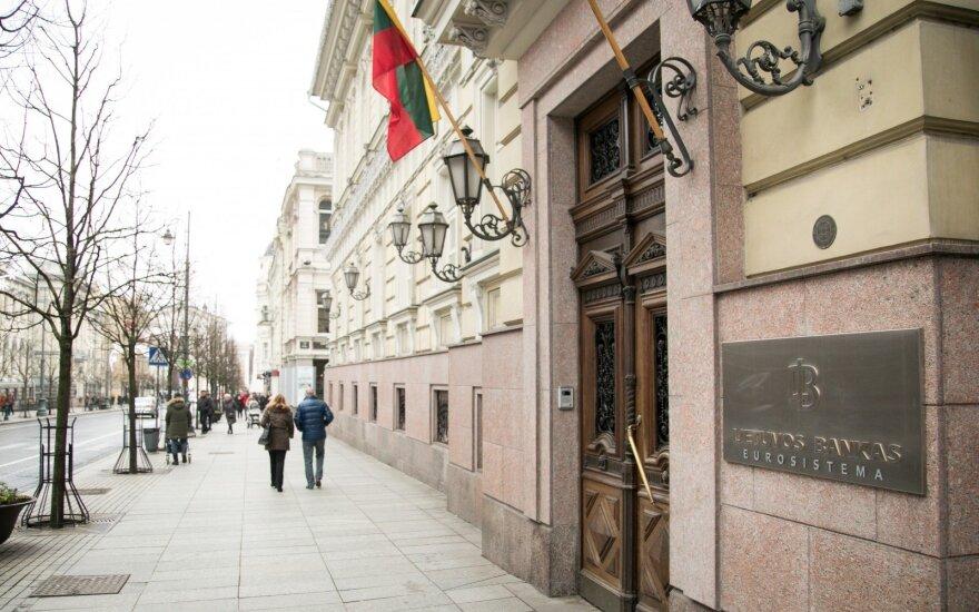 Lietuvos bankas praneš naujas atlyginimų augimo tendencijas