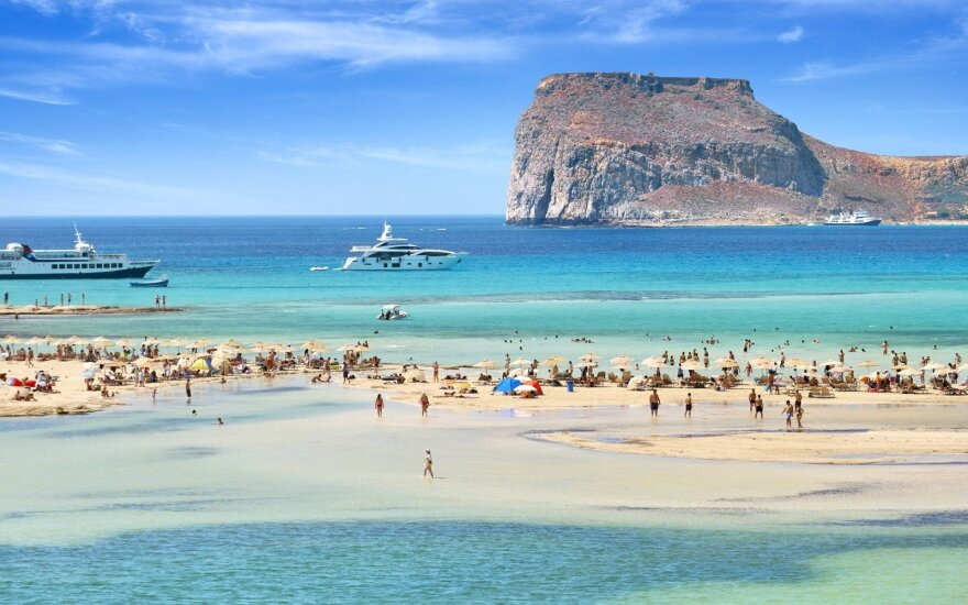 Balos lagūna, Kreta