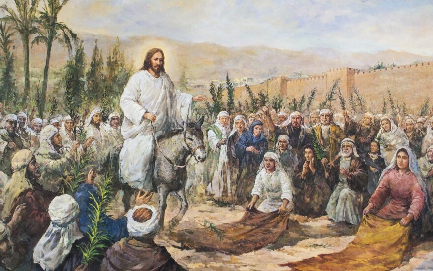 Sekmadienio Evangelija. Vardo galia