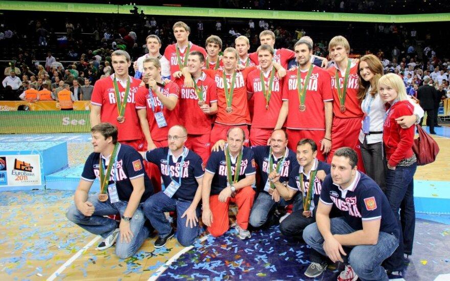 Rusijos krepšininkai