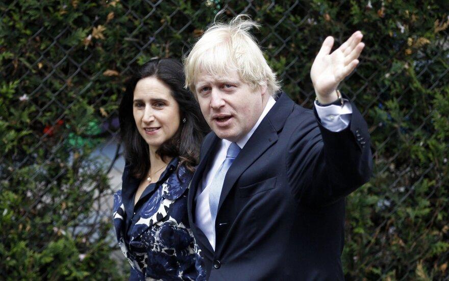 Borisas Johnsonas ir Marina Wheeler