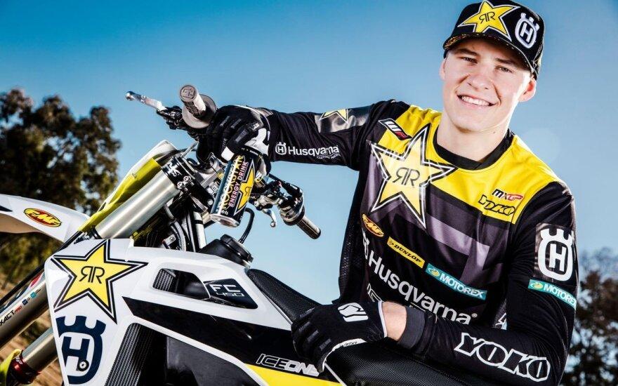 Arminui Jasikoniui Olandijos motokroso čempionato etape lygių nebuvo