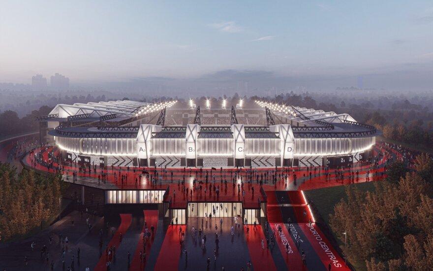 Nacionalinio stadiono idėja dar nelaidojama – įsikišo Vyriausybė