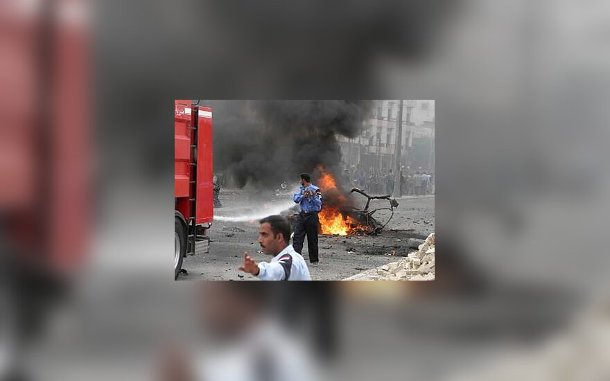 Sprogęs automobilis Basroje