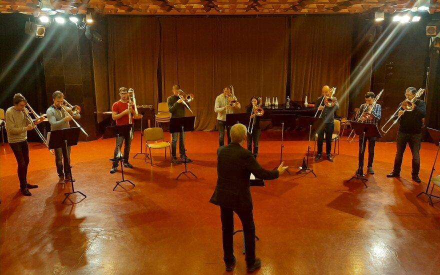 Lietuvoje lankosi pasaulinė trombonų žvaigždė