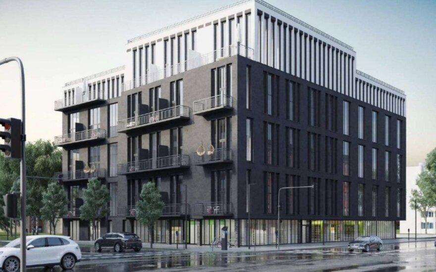 Sostinės Naujamiestyje planuojamas naujas verslo centras su gyvenamosiomis patalpomis