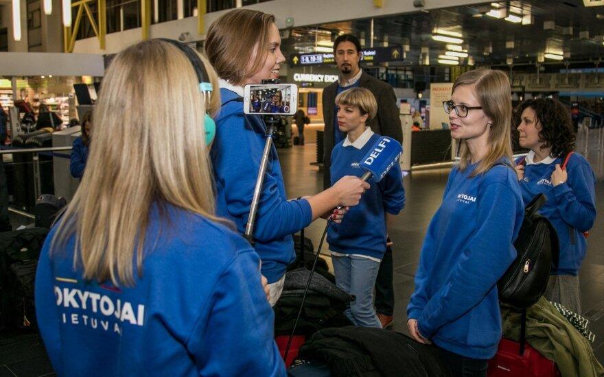 Ypatinga diena: 15 Lietuvos mokytojų išvyksta stažuotis į Suomiją