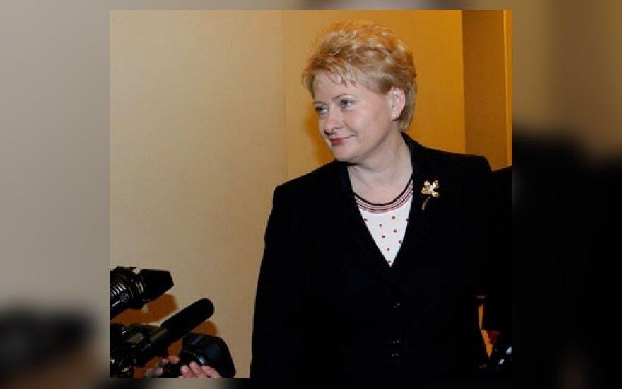 Krikdemiškasis TS-LKD flangas nenori D.Grybauskaitės?