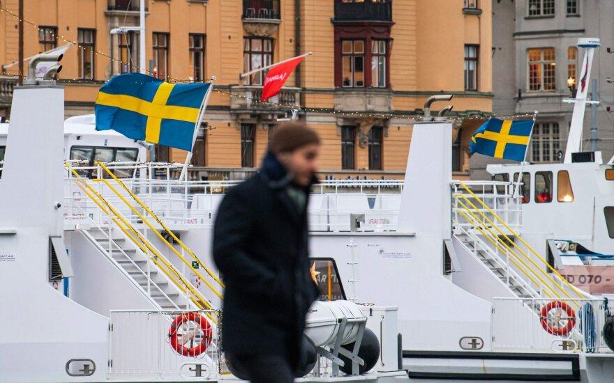 Švedija dėl naujos atmainos koronaviruso iki vasario 14 d. uždraudė atvykti į šalį iš Norvegijos