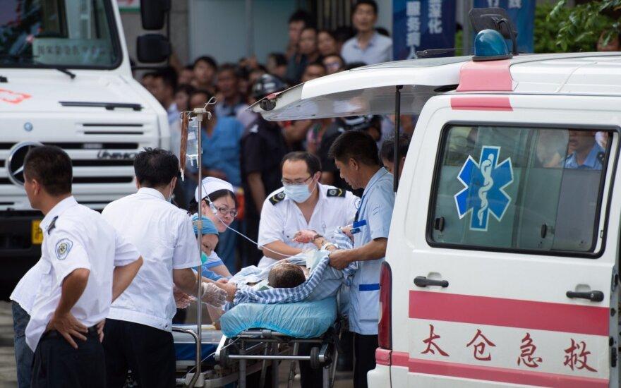 Kinijoje įgriuvus anglių kasyklai žuvo devyni žmonės