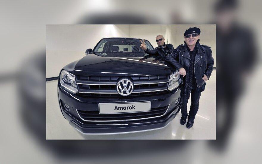 "The Scorpions"" nariai prie ""Volkswagen Amarok"""