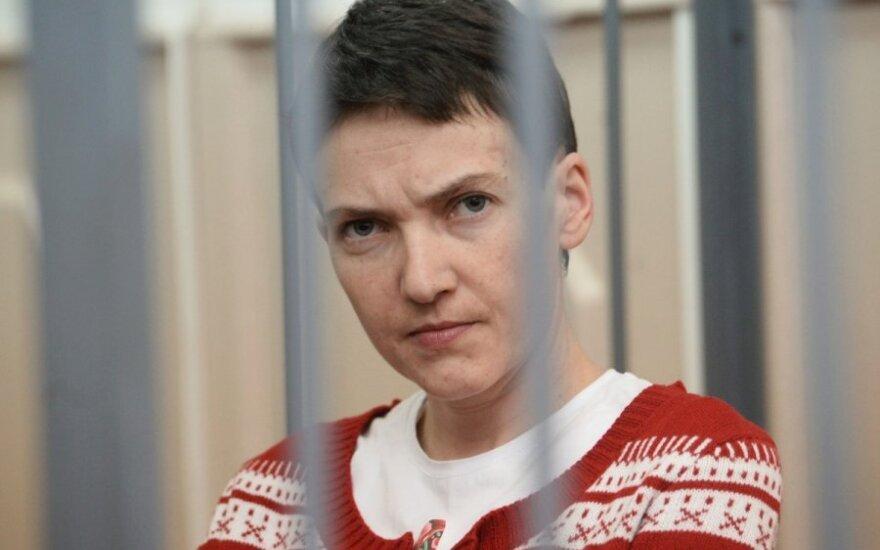 Lietuvos atstovas stebės N. Savčenko teismo procesą