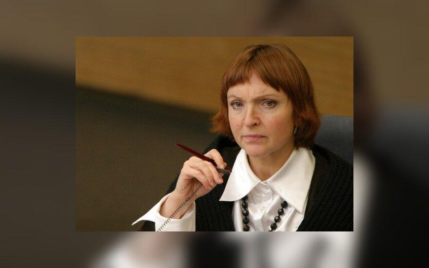 Seime - detektyvas dėl galimo fiktyvaus A.Baukutės padėjėjo įdarbinimo