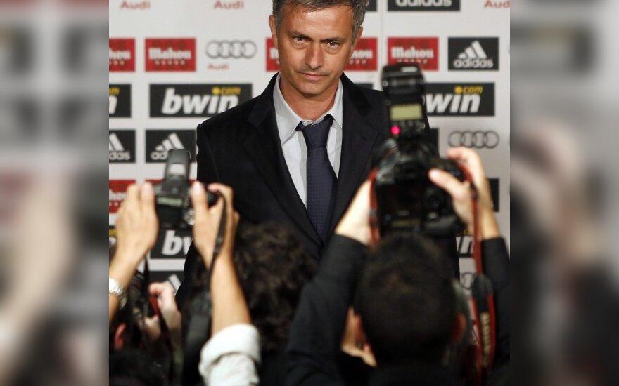 Jose Mourinho prisistatė Madride