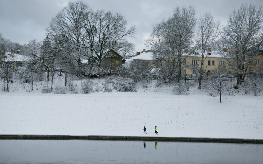 Orai: žiema drąsiai žengs į šalį