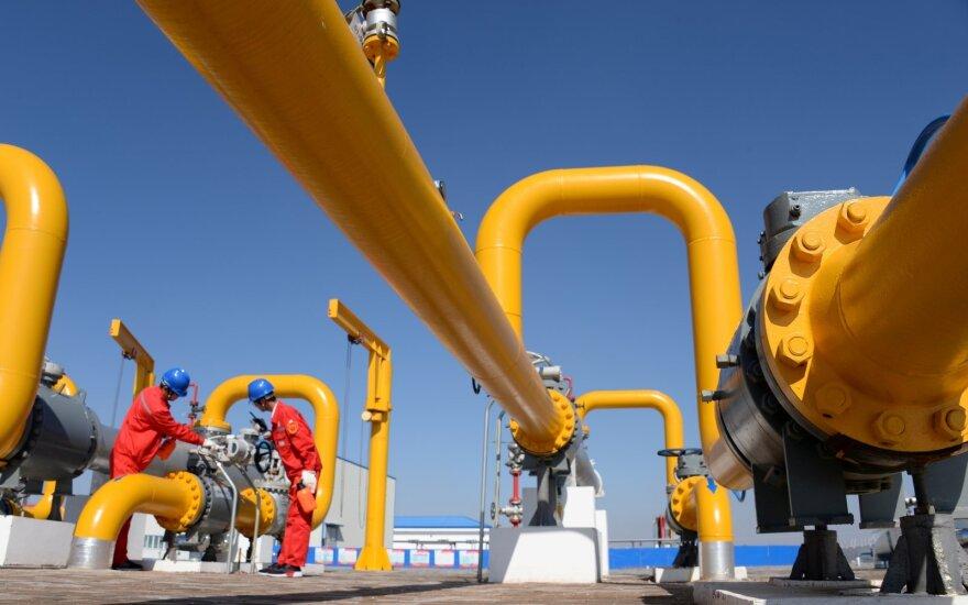 Augant susirūpinimui dėl viruso poveikio, Europoje smunka dujų bei elektros rinka