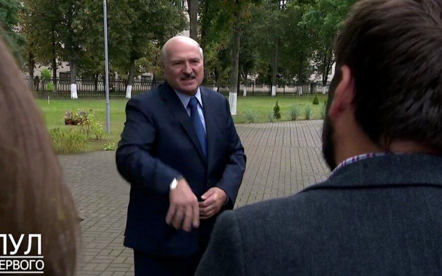 """Aliaksandras Lukašenka, """"Pul pervogo"""" stopkadras"""