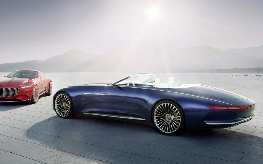 """Koncepcinis """"Mercedes-Maybach 6 Cabriolet"""" (asociatyvi nuotr.)"""