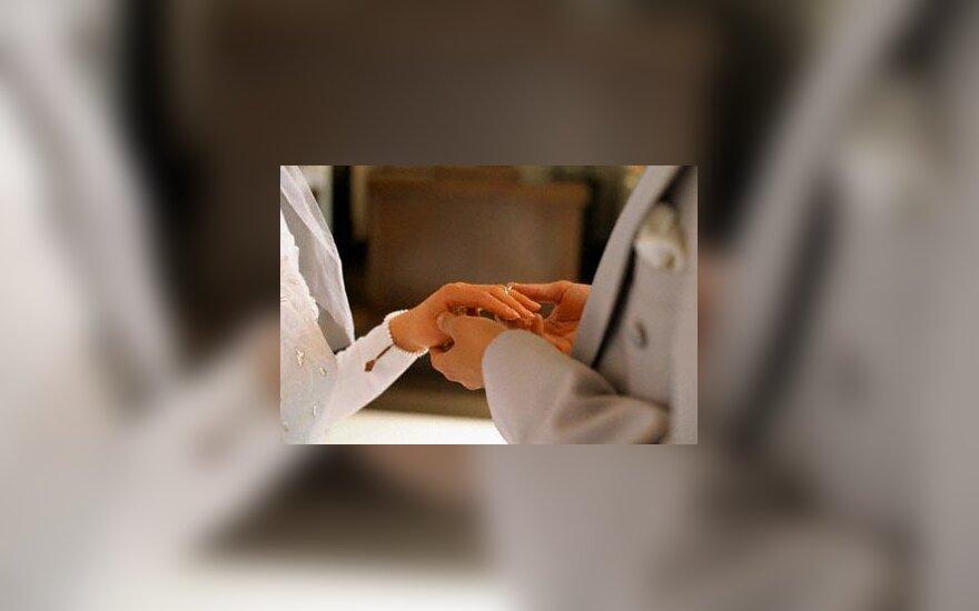 santuoka, vedybos, vestuvės, sutuoktiniai