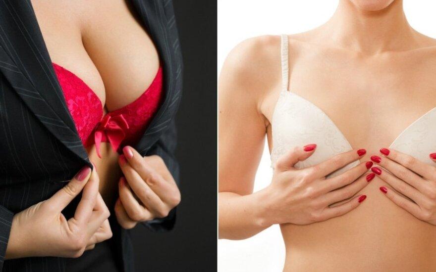 Ar įmanoma pasididinti krūtis be implantų?